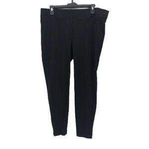 Ann Taylor Loft Womens Skinny Slim Pants Black L